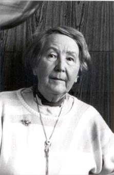 Professor Dr. Edeltrud Meistermann (Anfang 1990 - Fotograf unbekannt)